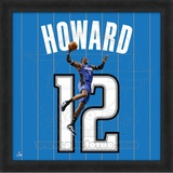 Dwight Howard, Magic photographic representation of the player's jersey Framed Memorabilia