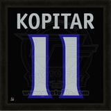 Anze Kopitar, Kings photographic representation of the player's jersey Framed Memorabilia