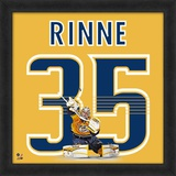 Pekka Rinne, Predators representation of the player&#39;s jersey Framed Memorabilia