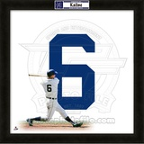 Al Kaline, Tigers representation of the player&#39;s jersey Framed Memorabilia
