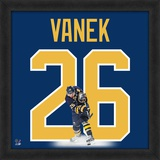 Thomas Vanek, Sabres representation of the player's jersey Framed Memorabilia