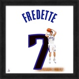 Jimmer Fredette, Kings representation of the player's jersey Framed Memorabilia