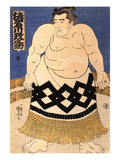 The Sumo Wrestler Giclee Print by Kuniyoshi Utagawa