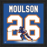 Matt Moulson, Islanders representation of the player's jersey Framed Memorabilia