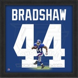 Ahmad Bradshaw, Giants representation of the player's jersey Framed Memorabilia