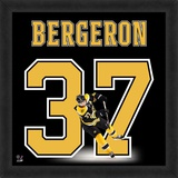 Patrice Bergeron, Bruins representation of the player's jersey Framed Memorabilia