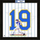 Robin Yount, Brewers representation of the player's jersey Framed Memorabilia