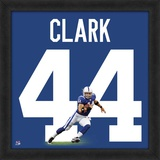 Dallas Clark, Colts representation of the player's jersey Framed Memorabilia