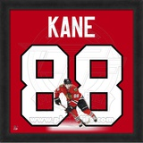 Patrick Kane, Blackhawks photographic representation of the player's jersey Framed Memorabilia