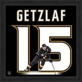 Ryan Getzlaf, Ducks representation of the player's jersey Framed Memorabilia