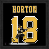 Nathan Horton, Bruins representation of the player's jersey Framed Memorabilia