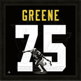 Joe Greene, Steelers representation of the player's jersey Framed Memorabilia