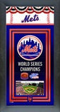 New York Mets Framed Championship Banner Framed Memorabilia