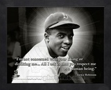 Jackie Robinson, Brooklyn Dodgers, ProQuote Framed Memorabilia