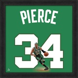 Paul Pierce, Celtics photographic representation of the player's jersey Framed Memorabilia