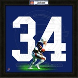 Bo Jackson, Auburn University representation of the player's jersey Framed Memorabilia