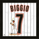 Craig Biggio, Astros representation of the player&#39;s jersey Framed Memorabilia