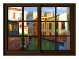 View from the Window at Venice Giclee Print by Anna Siena