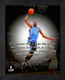 Kevin Durant ProQuote Framed Memorabilia