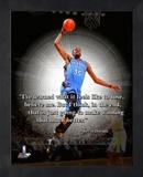 Kevin Durant ProQuote Framed Memorabilia