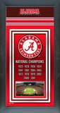 University of Alabama Crimson Tide Framed Championship Banner Framed Memorabilia