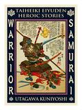 Samurai Kida Muneharu Giclee Print by Kuniyoshi Utagawa