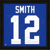 Steve Smith, Giants representation of the player's jersey Framed Memorabilia