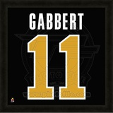 Blaine Gabbert University of Missouri Tigers representation of the player's jersey Framed Memorabilia