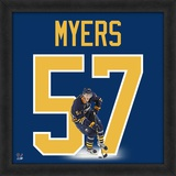 Tyler Myers, Sabres representation of the player's jersey Framed Memorabilia