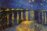 Nuit étoilée sur le Rhône, vers 1888 Posters par Vincent van Gogh