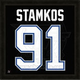Steven Stamkos, Lightning photographic representation of the player's jersey Framed Memorabilia