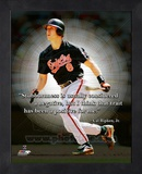 Cal Ripken Jr. ProQuote Framed Memorabilia