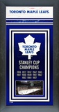 Toronto Maple Leafs Framed Championship Banner Framed Memorabilia