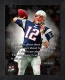Tom Brady ProQuote Framed Memorabilia