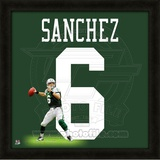 Mark Sanchez, Jets representation of the player's jersey Framed Memorabilia