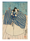 Actor Ichikawa Danjuro Viii Giclee Print by Kuniyoshi Utagawa