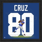 Victor Cruz, Giants representation of the player's jersey Framed Memorabilia