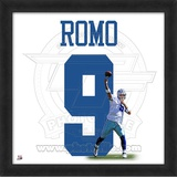 Tony Romo, Cowboys photographic representation of the player's jersey Framed Memorabilia