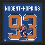 Ryan Nugent-Hopkins, Oilers representation of the player's jersey Framed Memorabilia