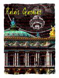 Palais Garnier Paris, Opera House 3 Giclee Print by Victoria Hues