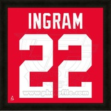 Mark Ingram, University of Alabama Crimson Tide representation of the player's jersey Framed Memorabilia
