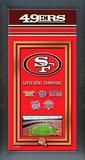 San Francisco 49ers Framed Championship Banner Framed Memorabilia