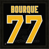 Ray Bourque, Bruins photographic representation of the player's jersey Framed Memorabilia