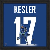 Ryan Kesler, Canucks representation of the player's jersey Framed Memorabilia