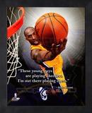 Kobe Bryant ProQuote Framed Memorabilia