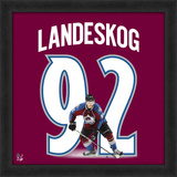Gabriel Landeskog, Avalanche representation of the player&#39;s jersey Framed Memorabilia