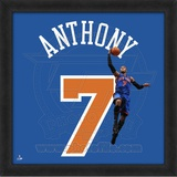 Carmelo Anthony, Knicks  Representation of the player's jersey Framed Memorabilia