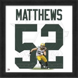 Clay Matthews, Packers photographic representation of the player's jersey Framed Memorabilia