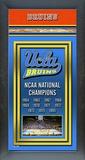 2010 UCLA Bruins Framed Championship Banner Framed Memorabilia