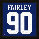 Nick Fairley, Auburn University Tigers representation of the player's jersey Framed Memorabilia